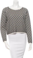 Tanya Taylor Patterned Long Sleeve Sweater