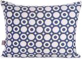 Belle Epoque Pinpoint Embroidered Bolitas Boudoir Throw Pillow