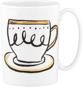 Kate Spade Daisy Place Creme de la Creme Mug