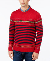 Tommy Hilfiger Men's Dominick Donegal Fair Isle Sweater
