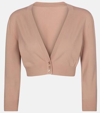 Alaia Cropped cardigan