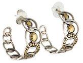 John Hardy Dot Hoop Earrings
