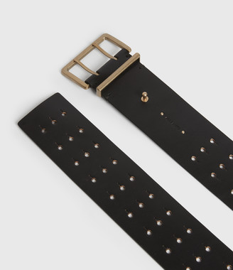 AllSaints Jane Leather Belt