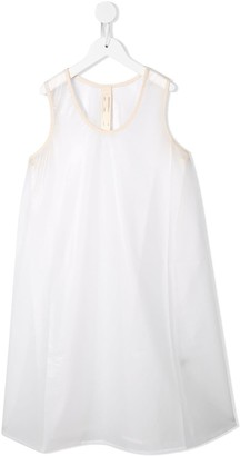 Little Creative Factory Kids Contrast Piped Trim Dress
