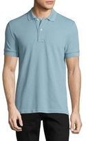 Tom Ford Pique Polo Shirt, Light Blue