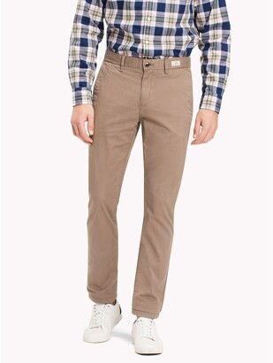 Tommy Hilfiger Straight Fit Stretch Cotton Twill Chino