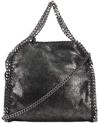 Stella McCartney Falabella Shoulder Bag In Silver Faux Leather