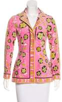 Emilio Pucci Printed Woven Jacket w/ Tags
