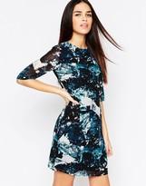 Sugarhill Boutique Amelia Dress In Icey Print