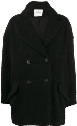 BA&SH Gillie double-breasted coat