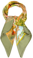 Hermes Nuba Mountain Silk Scarf
