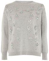Topshop Scatter embellished sweater