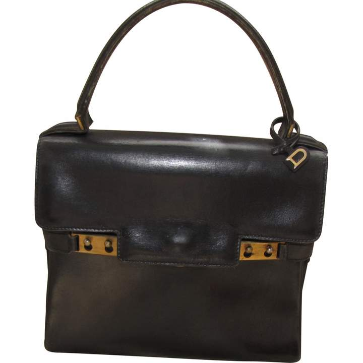 Delvaux Black Patent leather Handbag