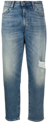 Levi's Made & Crafted Mid Rise Tapered Jeans