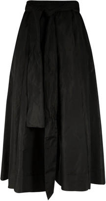 VIVETTA Belt-tie Waist Long Skirt