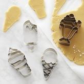 Williams-Sonoma Williams Sonoma Ice Cream Impression Cookie Cutters, Set of 4