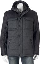 Apt. 9 Men's Modern-Fit Quilted Mixed Media Puffer Jacket