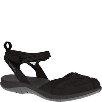 Merrell Siren Wrap Q2, Women's Sports & Outdoor Sandals, Black (Schwarz), 9 UK (42 EU)
