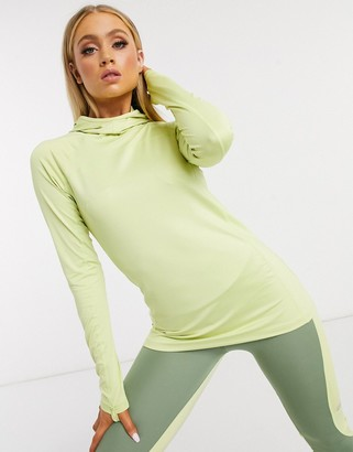 ASOS 4505 long sleeve hooded active running top