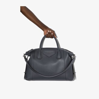 Givenchy X Browns 50 grey Antigona soft leather tote bag