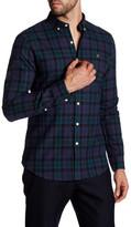 Farah Helford Plaid Long Sleeve Slim Fit Shirt