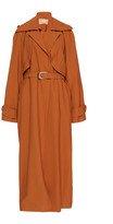 MATÉRIEL Oversized Belted Viscose Trench Coat