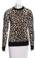 Celine Leopard Heavy Sweater