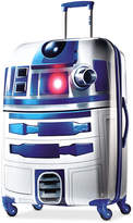 """Star Wars 65% OFF R2D2 28"""" Hardside Spinner Suitcase by American Tourister"""