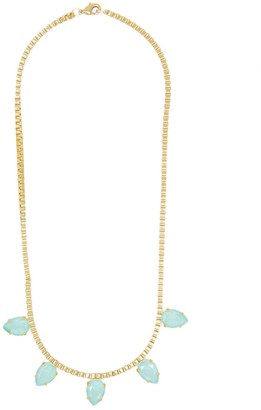 Rosaspina Firenze Mint Green Five Drops Necklace