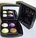Avon True Color Eyeshadow Quad Electric Purple