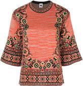 M Missoni round-neck knit pullover