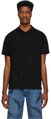 Moschino Black Scars Polo