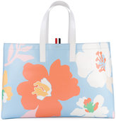 Thom Browne floral tote bag - women - Calf Leather - One Size