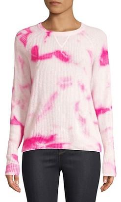 Line Clover Tie-Dye Cashmere Sweater