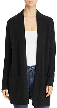 C by Bloomingdale's Cashmere Open Front Cardigan With Pockets - 100% Exclusive