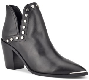 Marc Fisher Dayne Studded Booties Women's Shoes