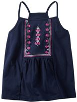 Carter's Baby Girl Embroidered Tank Top