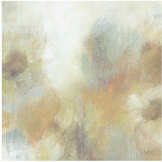 Pottery Barn Reminiscent Floral Canvas