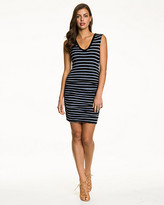 Le Château Stripe Jersey Tunic Dress