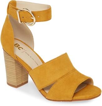 BC Footwear Empowering Vegan Block Heel Sandal