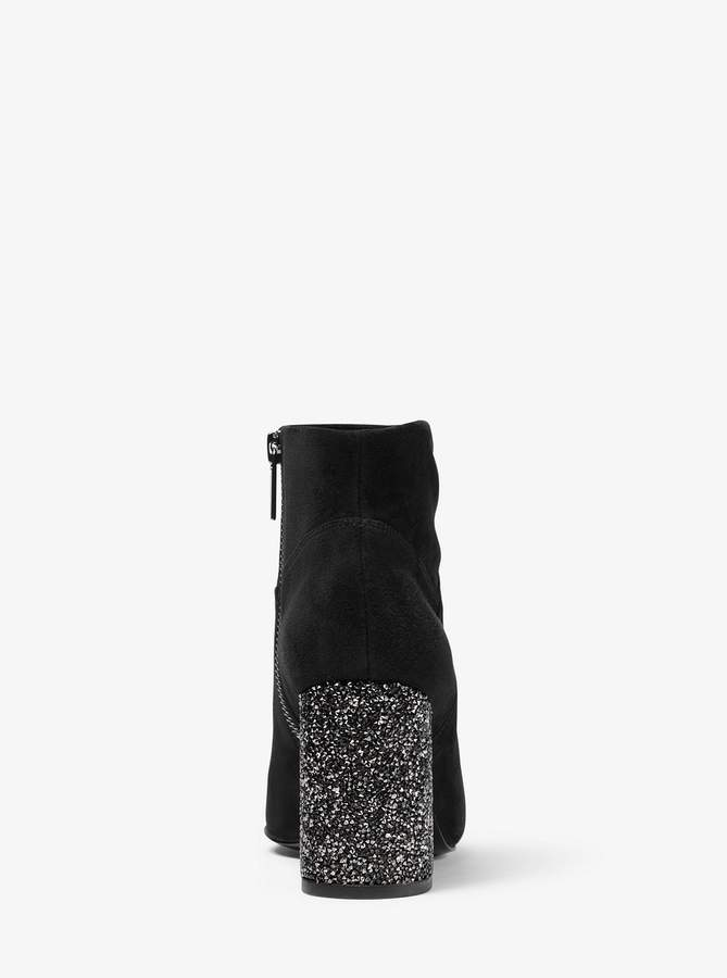 MICHAEL Michael Kors Cher Suede Ankle Boot