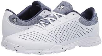adidas Adipure Sport 2.0 (Footwear White/Silver Metallic/Tech Indigo) Women's Golf Shoes