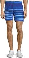 Orlebar Brown Bulldog Planetary Striped Sport Shorts