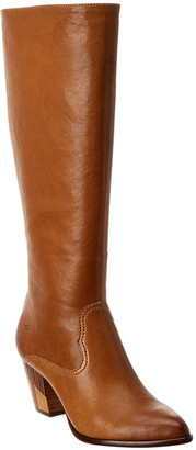 Frye Reed Inside Zip Tall Leather Boot