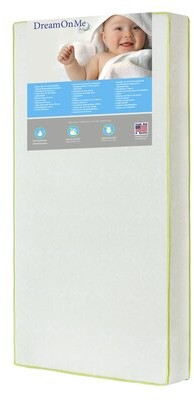 Dream On Me 2-Stage Waterproof Toddler Mattress