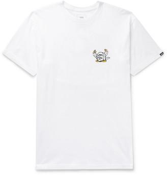 Vans Cheers Printed Cotton-Jersey T-Shirt