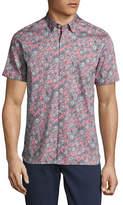Ted Baker London Floral Printed Sport Shirt