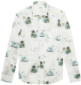 Hartford 'Cote D'azur' Cotton Paul Shirt