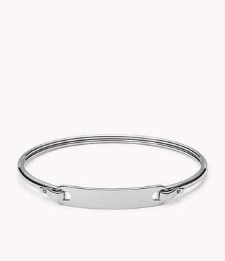 Fossil Plaque Steel Bracelet jewelry JF02966040