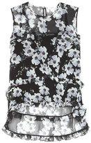 Erdem Bess floral-printed silk blouse